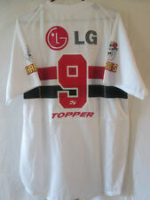 Sao Paulo FC 2005 N ° 9 DOMICILE FOOTBALL SHIRT taille S adulte / 10601