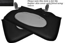 BLACK Stitch accoppiamenti BMW MINI COOPER R56 CLUBMAN R55 07-13 2x SUN VISIERE copre