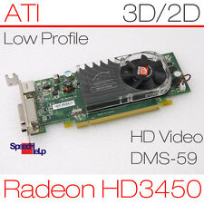 PCI-E x16 scheda grafica ATI Radeon hd3450 256mb Low Profile Dell 0y104d dms-59 281