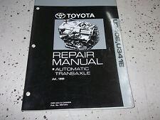 2001 Toyota CELICA AUTOMATIC TRANSAXLE Service Shop Repair Manual U340E U341E