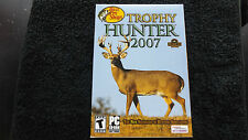 TROPHY HUNTER 2007 PC-CD NEW SEALED FAST POST ( sports/hunting simulation game )