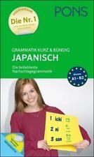 NEU: PONS Grammatik kurz & bündig JAPANISCH - japanische Grammatik lernen