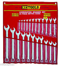 KC Tools 23 PIECE METRIC COMBINATION SPANNER SET A13344