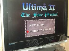 Ultima: The False Prophet  Super Nintendo Tested Cleaned