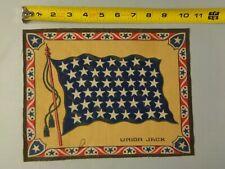 Vintage 1900's Tobacco Cigarette Felt - Large - Union Jack