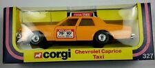 NEW Vintage Corgi 327 CHEVROLET CAPRICE TAXI