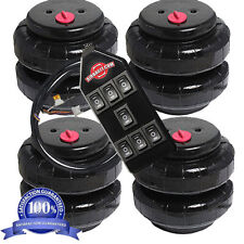"""AirRide Suspension  4 AirBags Standard 2500-I 1/2""""npt Kit/7-Switch Controller"""