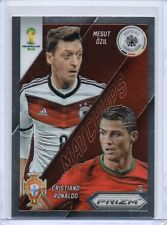 CRISTIANO RONALDO / MESUT OZIL 2014 Prizm World Cup Brazil Matchups Insert Card