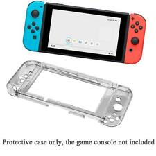 For Nintendo Switch Joy-Con Anti-Scratch 3-Part Protective Clear Hard Case Cover