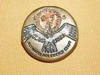 VINTAGE WWII GERMAN EAGLE PIN  AUFWARTS AUS EIGENER KRAFT