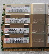 16GB 4x 4GB 667MHz RAM IBM xSeries X3650 41y2845 PC2-5300F DDR2 Fully Buffered