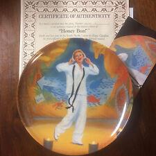 "Nib South Pacific Collector Plate 1987 Knowles Coa - Honey Bun 8.5"""