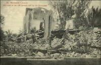Jamaica St. Michael's Church Destroyed by Earthquake c1910 Postcard