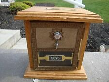 Post Office Lockbox Bank Safe