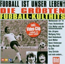 Fussball ist unser Leben-Die größten Fußball-Kulthits (2006) Franz Becken.. [CD]