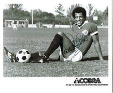 Carlos Alberto Torres †  Foto Cosmos New York / Weltmeister 1970 mit original Ag