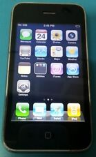 Apple iPhone 3G 16GB Black AT&T Good Condition - BAD WIFI - READ BELOW