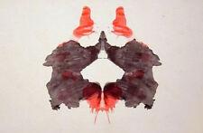 Incorniciato stampa-PSICOLOGIA INKBLOT ART (PICTURE POSTER Salute Mentale Mind Yoga)