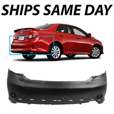 NEW Primered - Rear Bumper for 2009 2010 Toyota Corolla Sedan S XRS 5215902964
