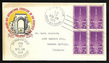 US FDC 1939 Golden Gate Expo Scott 852 Torkel and Gundel Cachet in Color  