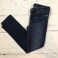 ag adriano goldschmied the stilt cigarette leg Skinny Jeans Dark Wash Size 28 R