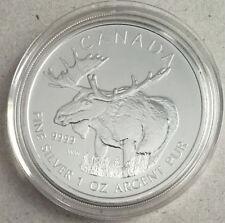 2012 Canada $5 Fine Silver Maple Leaf - Wildlife Series - The Moose