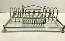 Vintage Flatware Silverware Buffet Caddy Silverplate