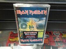 Iron Maiden Self Titled Cassette Tape NEW Heavy Metal + 3 Bonus Tracks Castle