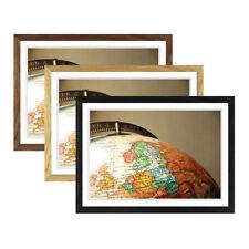 Wood Map Art Prints