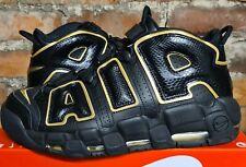 Nike Air More Uptempo'96 Francia Qs UK10 US11 EUR45 Oro Negro AV3810 001