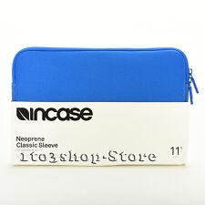 Incase MacBook Air Neoprene Classic Sleeve Pouch Case w Retina 11 Blue