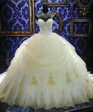 Luxury Ball Gowns Wedding Dresses Sweetheart Plus Size Bridal Gowns Hot
