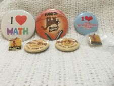 Lot of pins/buttons Hard Rock Cafe,1992 gymnastic Olympic and miscellaneous