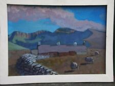"""North Wales oil painting """" Y fron  """""""