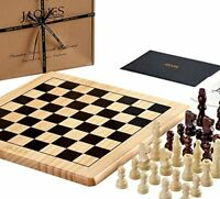 Jaques of London Chess Set Complete with Pieces - Quality CHess Board and Jaques