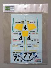 1/12 Yamaha YZR500 Gauloises WGP 88/89' C. Sarron Decal for Hasegawa