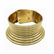 African high neck rings Gold Ndebele Choker Necklace