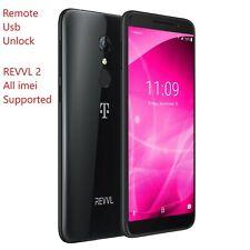T-Mobile REVVL 2 / OT-5052W Unlock Remote Service Read Description.