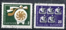 Bulgaria.  1968. Co-operation with Scandinavia.  SG1825 and 1828.  Used.