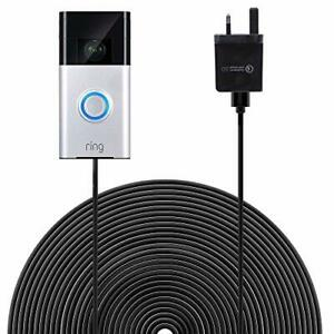 HOLACA Power Supply 20 ft(6 m) Charge Cable with DC Power Adapter Compatible