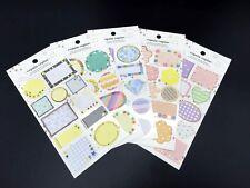 Bulk 55pcs Japan Seal Label Sticker Wedding Birthday Gift Tag Envelope Stickers