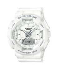 BRAND NEW CASIO G-SHOCK GMAS130-7A S-SERIES ANA-DIGI WHITE UNISEX WATCH NWT!!!