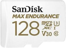 SanDisk Max Endurance MicroSD Card 100MBs with Adapter 128GB SDSQQVR-128G-GN6IA