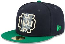 "NOTRE DAME IRISH NEW ERA 59FIFTY ""STATE REFLECTIVE REDUX"" SIZE 7 3/8 HAT CAP NEW"