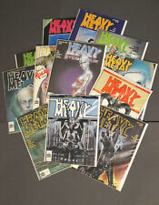 Heavy Metal Magazine complete year 1980, Moebius, HR. Giger