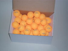 72 TT-Bälle Tischtennisbälle 40mm orange 2-Stern-Qualiät Der Sportler