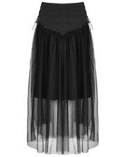 Faldas de mujer de color principal negro 100% algodón