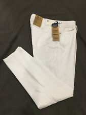 (*-*) SILVER JEANS * Womens SUKI MID SUPER SKINNY White Jeans Size 16 * NWT
