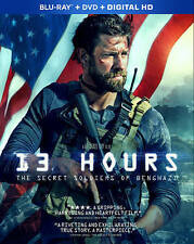 13 Hours: The Secret Soldiers of Benghazi (Blu-ray/DVD, 2016, 3-Disc Set) NEW