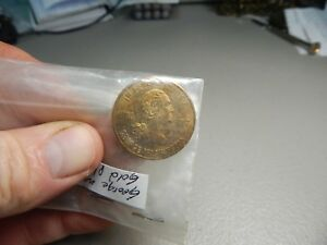 1rst President U.S.A. George Washington Brass Coin Medal 1789-1797